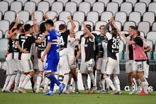 Juventus Players Celebrate Victory Serie Championship End Editorial Stock Photo Stock Image Shutterstock