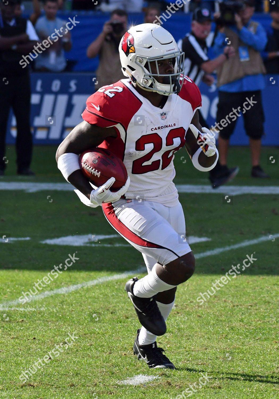 buy online 6a3c3 de250 Arizona Cardinals running back TJ Logan 22 Editorial Stock ...