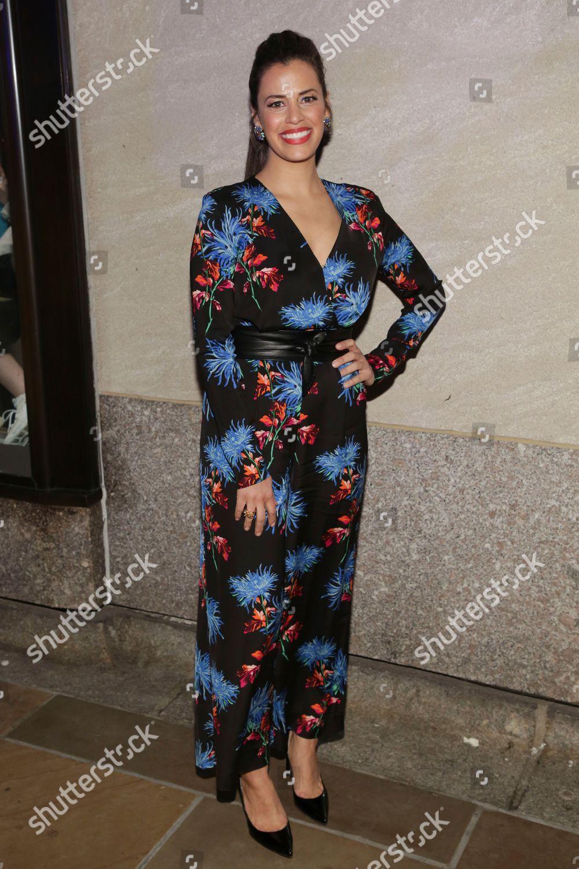 Stock Editorial Photo: Athena Karkanis Attends 86th Annual Rockefeller Center