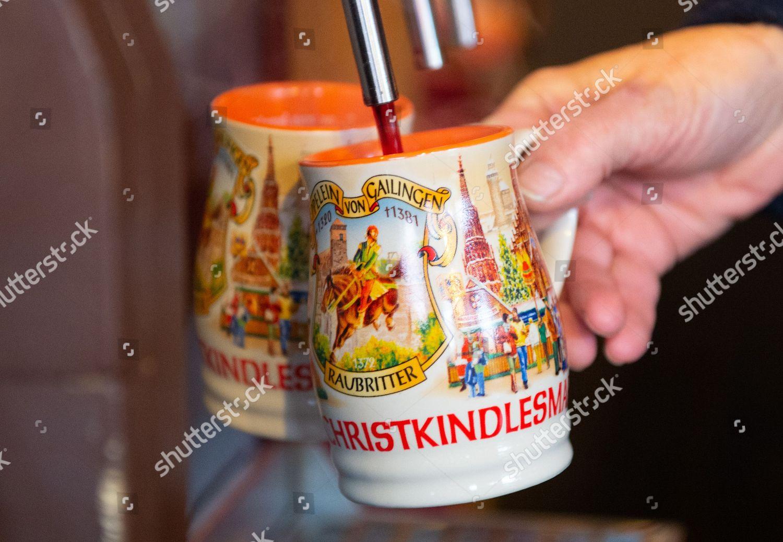 Mulled Wine Christmas Market.Mulled Wine Offered Worldfamous Christmas Market Nuremberg