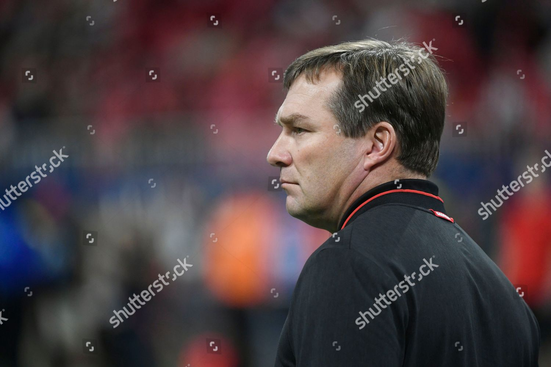 Georgia head coach Kirby Smart walks turf Stock Photo (10011092ah ... 3d4020893