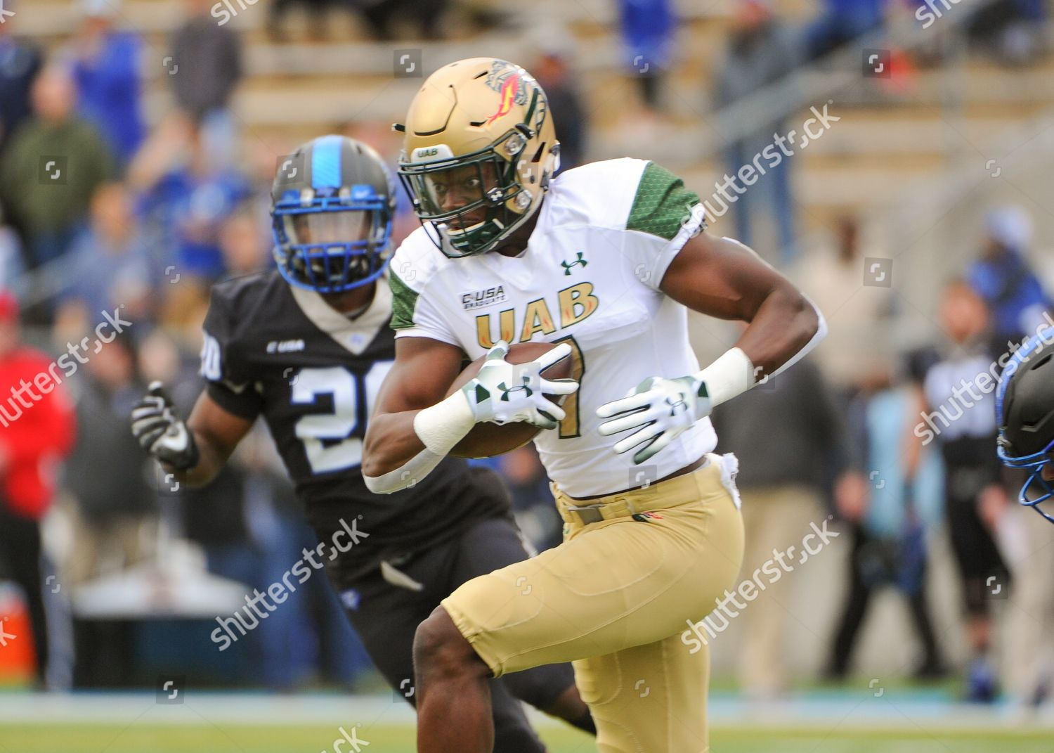 newest 59907 2a463 UAB wide receiver Xavier Ubosi 7 runs Editorial Stock Photo ...