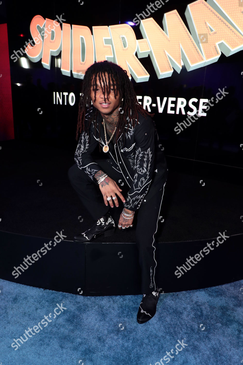 swae lee during red carpet premiere columbia stock photo 10011152dm