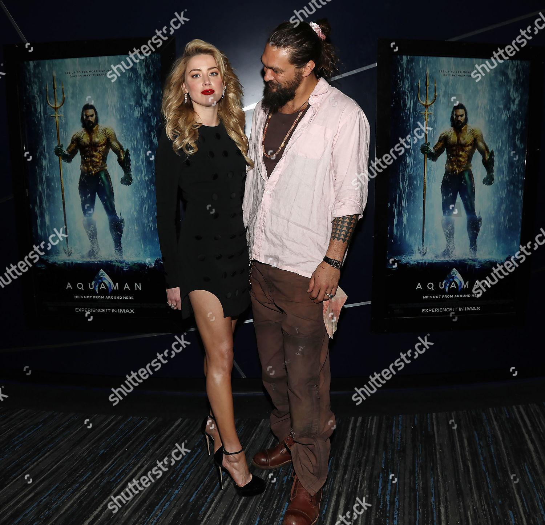 Amber Heard And Jason Momoa Photos Photos: Amber Heard Jason Momoa Editorial Stock Photo