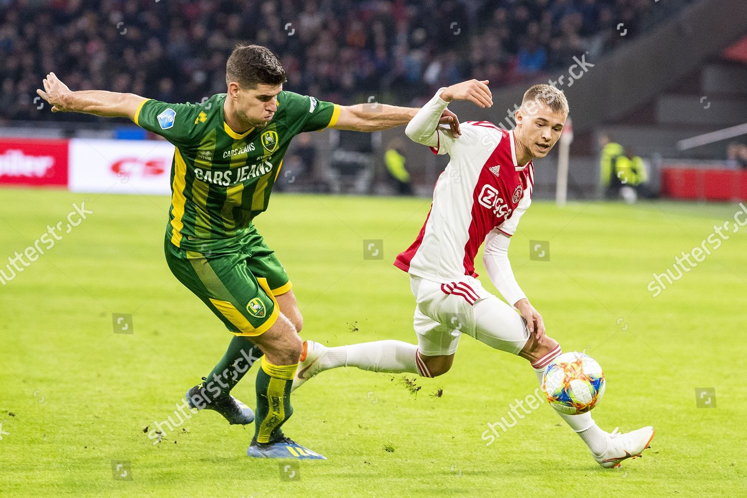 Daley Sinkgraven R Ajax Duels Nick Kuipers Editorial Stock Photo Stock Image Shutterstock