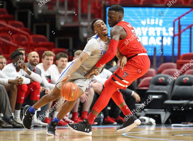 540bc30ae199 Stock photo of Texas Tech Memphis Basketball, Miami, USA - 01 Dec 2018