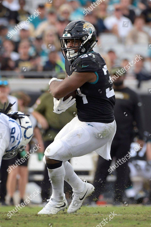 new arrival 5f087 7d010 Jacksonville Jaguars running back Carlos Hyde 34 Editorial ...