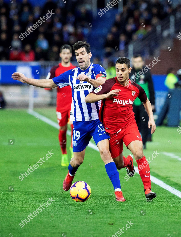 Deportivo Alaves Manu Garcia L Duels Ball Editorial Stock Photo Stock Image Shutterstock
