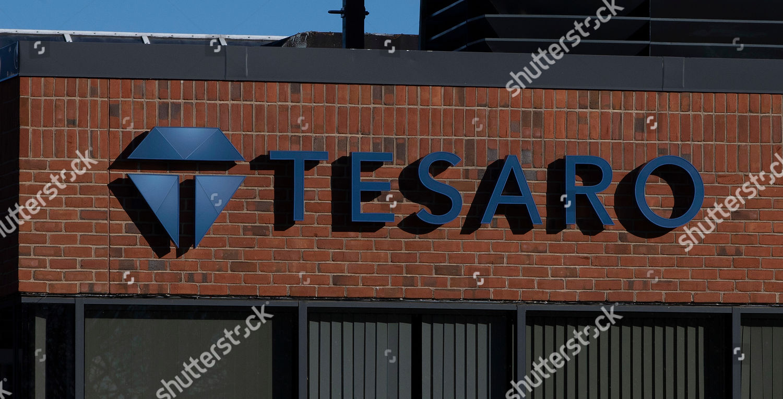 general view outside Tesaro headquarters Waltham Massachusetts