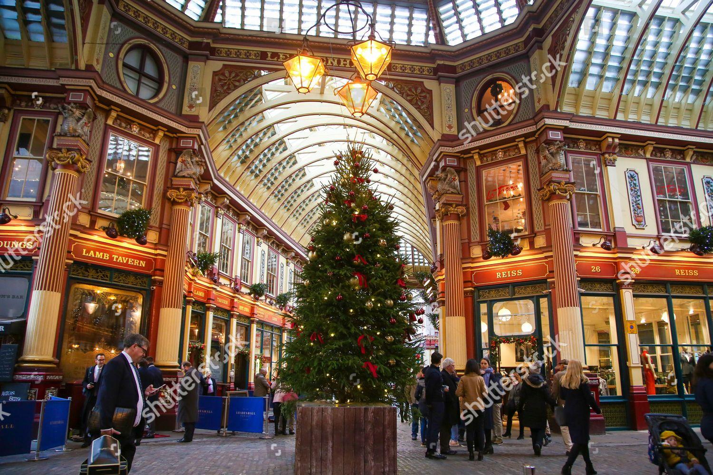 Leadenhall Market Christmas Lights 2021