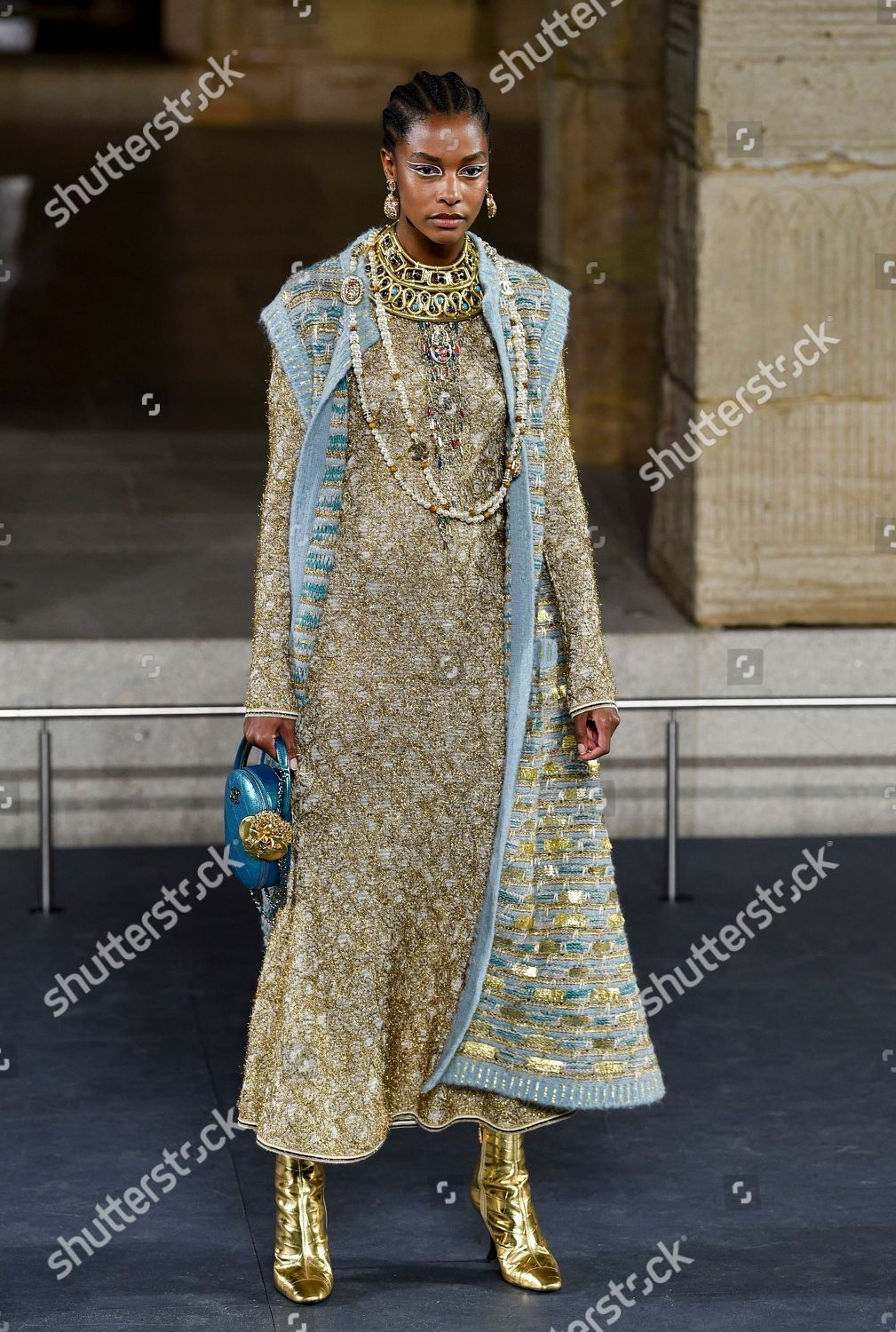 6d7285585 Chanel Metiers D'Art 2018/19 Show - Runway, New York, USA Stock Image by  Evan Agostini for editorial use, Dec 4, 2018