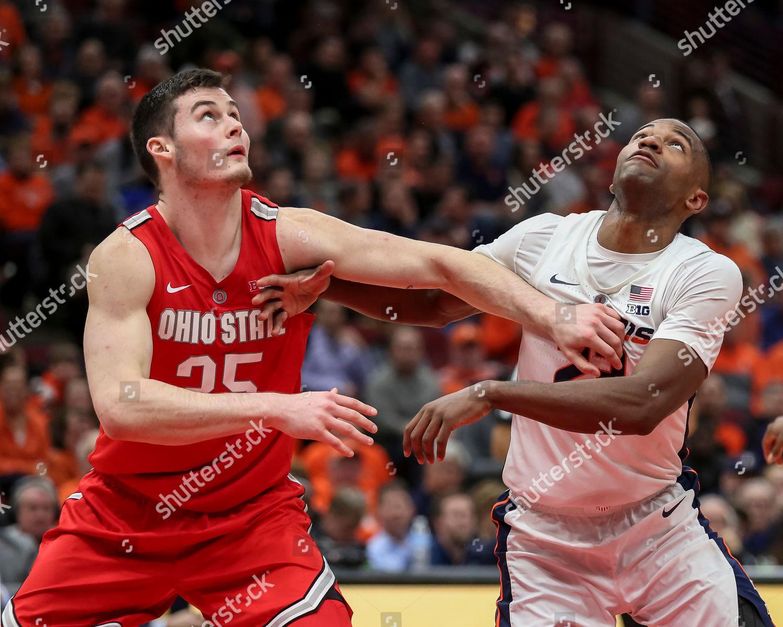 Aaron Jordan Illinois Fighting Illini Basketball Jersey - Red