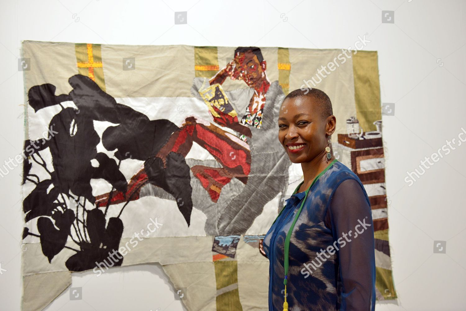 08016e37fe0 Billie Zangewa Malawian artist Editorial Stock Photo - Stock Image ...