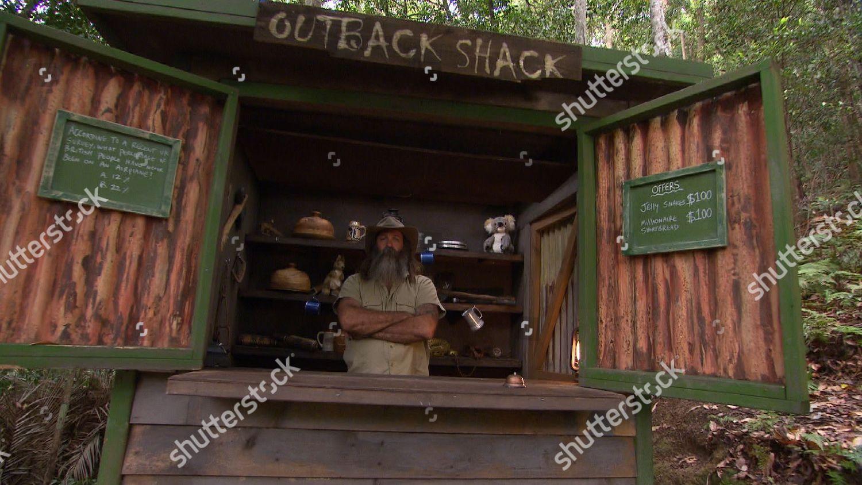 Outback Shack Return Kiosk Kev Editorial Stock Photo - Stock