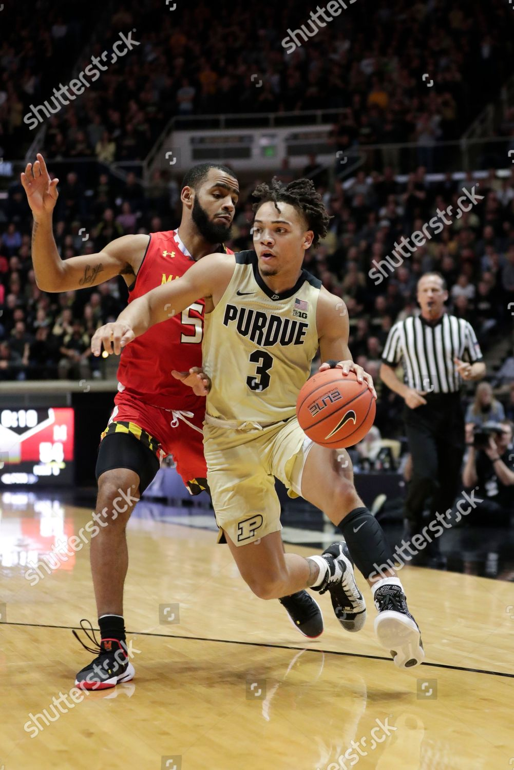 02b4a80c59c Purdue guard Carsen Edwards 3 drives on Editorial Stock Photo ...
