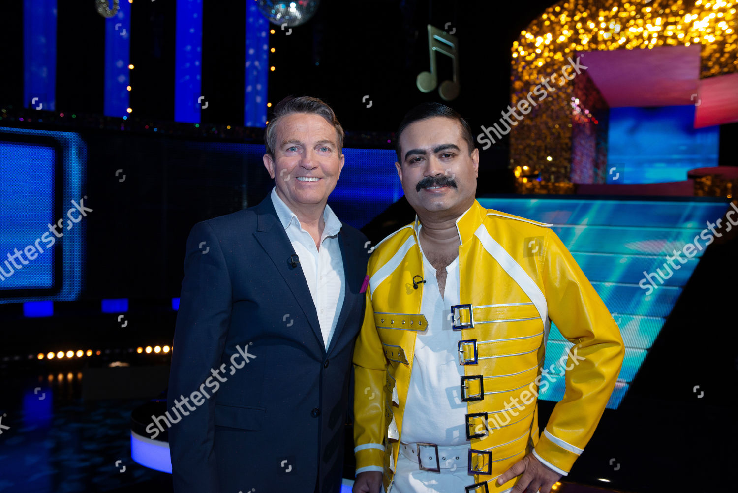 Bradley Walsh Paul Sinha Freddie Mercury Editorial Stock Photo Stock Image Shutterstock