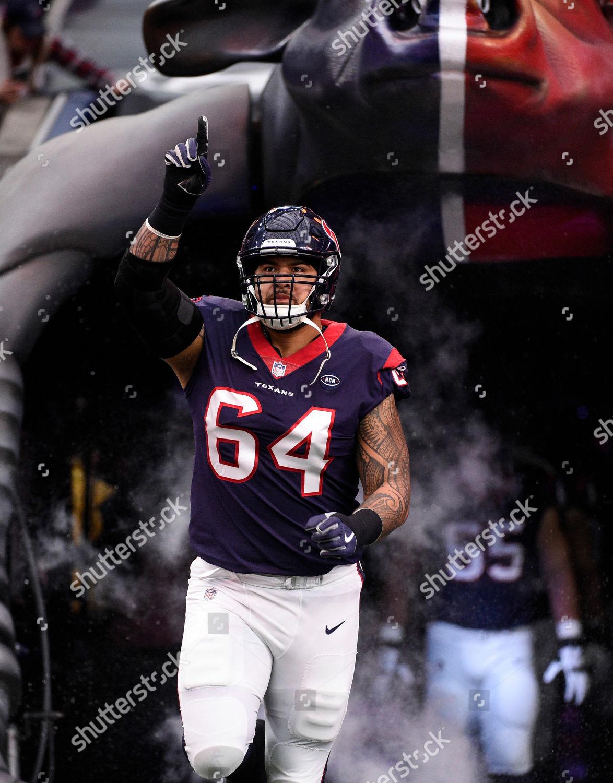 Houston Texans offensive guard Senio Kelemete introduced Editorial ...