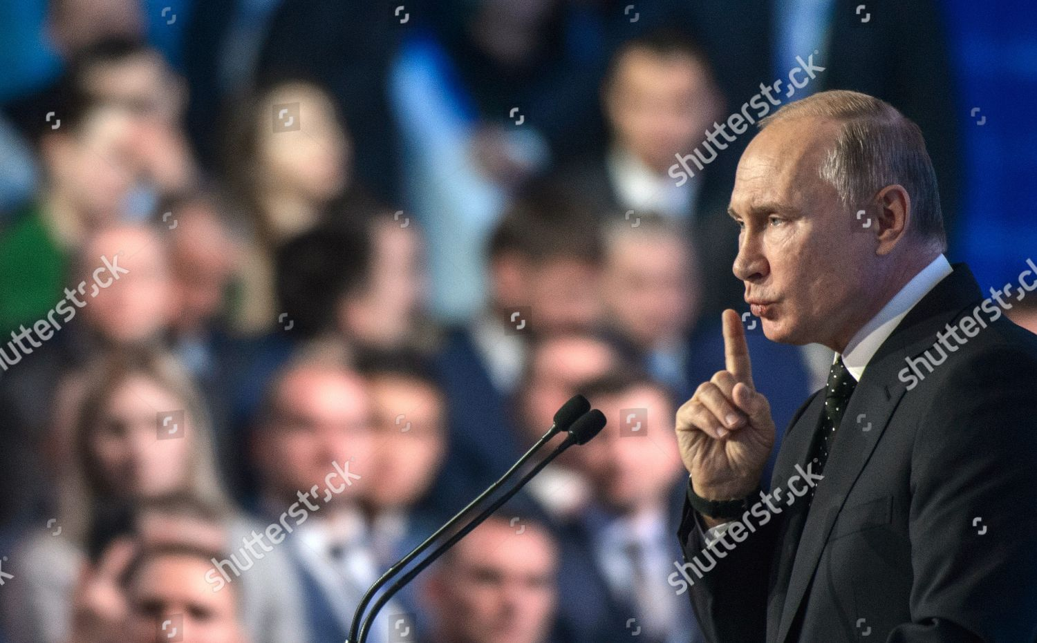 Russian President Vladimir Putin During Congress Editorial Stock Photo Stock Image Shutterstock
