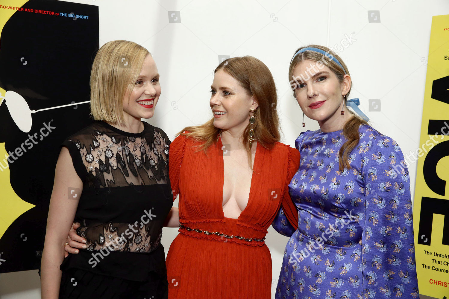 Alison Pill Amy Adams Lily Rabe Editorial Stock Photo