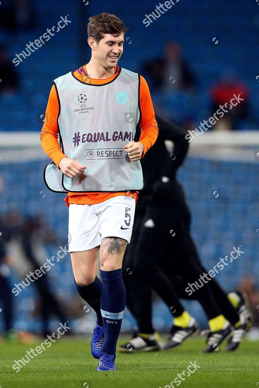 huge discount 77611 935a1 Manchester City defender John Stones 5 warming Editorial ...