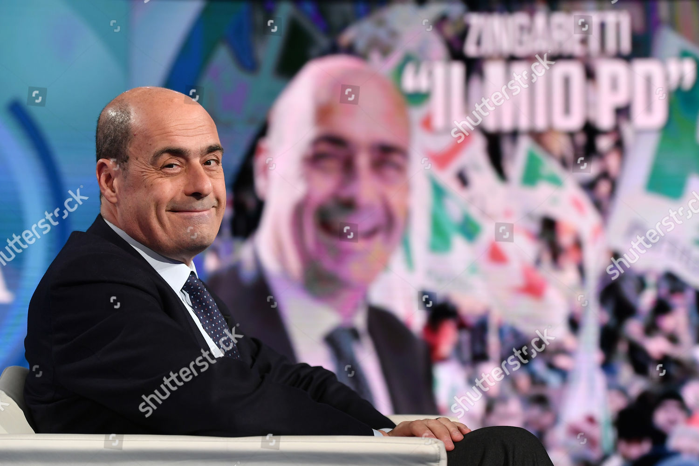 Porta Tv Lazio.Italian President Lazio Region Nicola Zingaretti Editorial