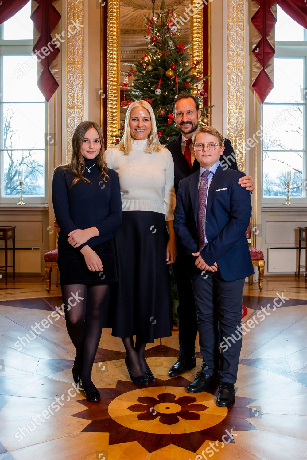 Members Norwegian Royal Family Lr Princess Ingrid Editorial Stock Photo Stock Image Shutterstock