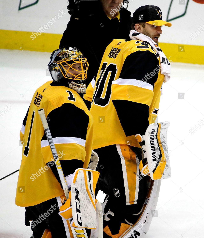 free shipping 86ba3 947f2 Casey DeSmith Matt Murray Pittsburgh Penguins goaltender ...