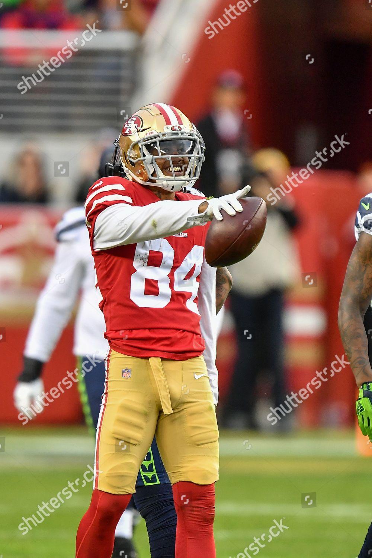 pretty nice f1b70 66486 San Francisco 49ers wide receiver Kendrick Bourne Editorial ...