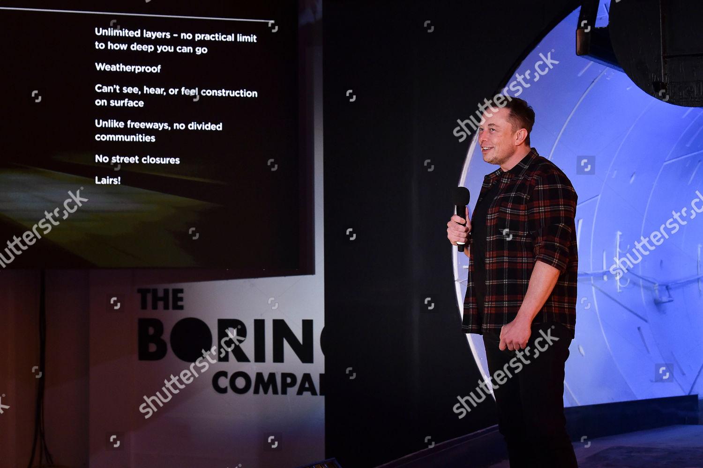 Elon Musk cofounder chief executive officer Tesla Editorial Stock