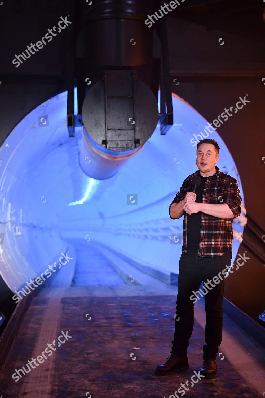 Elon Musk cofounder chief executive officer Tesla Foto