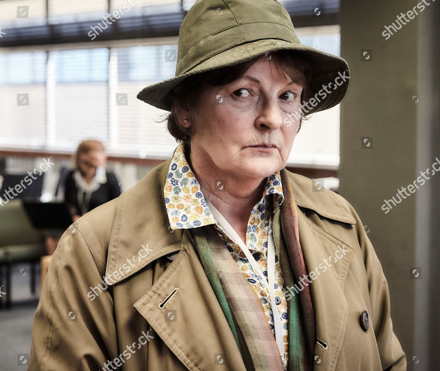 Brenda Blethyn DCI Vera Stanhope Editorial Stock Photo