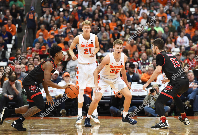 Syracuse Freshman Guard Buddy Boeheim 35 On Editorial Stock