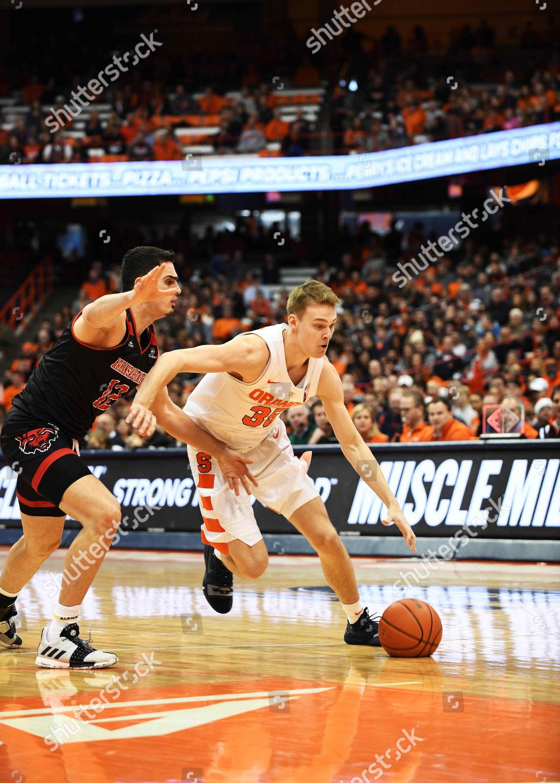 Syracuse Freshman Guard Buddy Boeheim 35 Drives Editorial