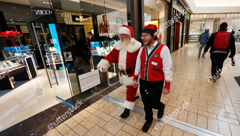 Santa Claus elf Cherry Creek Mall Santa Editorial Stock