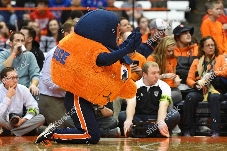 Editorial Stock Photo Of Syracuse University Mascot Otto Orange