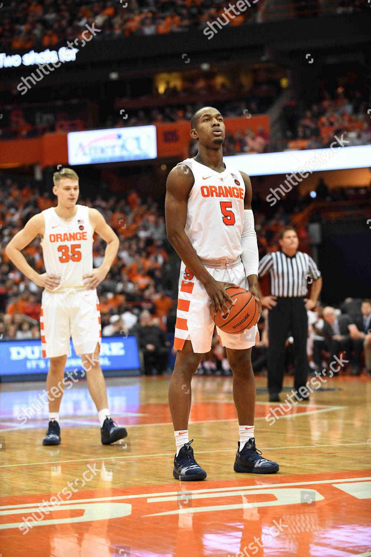 Syracuse Freshman Guard Jalen Carey 5 Prepares Editorial
