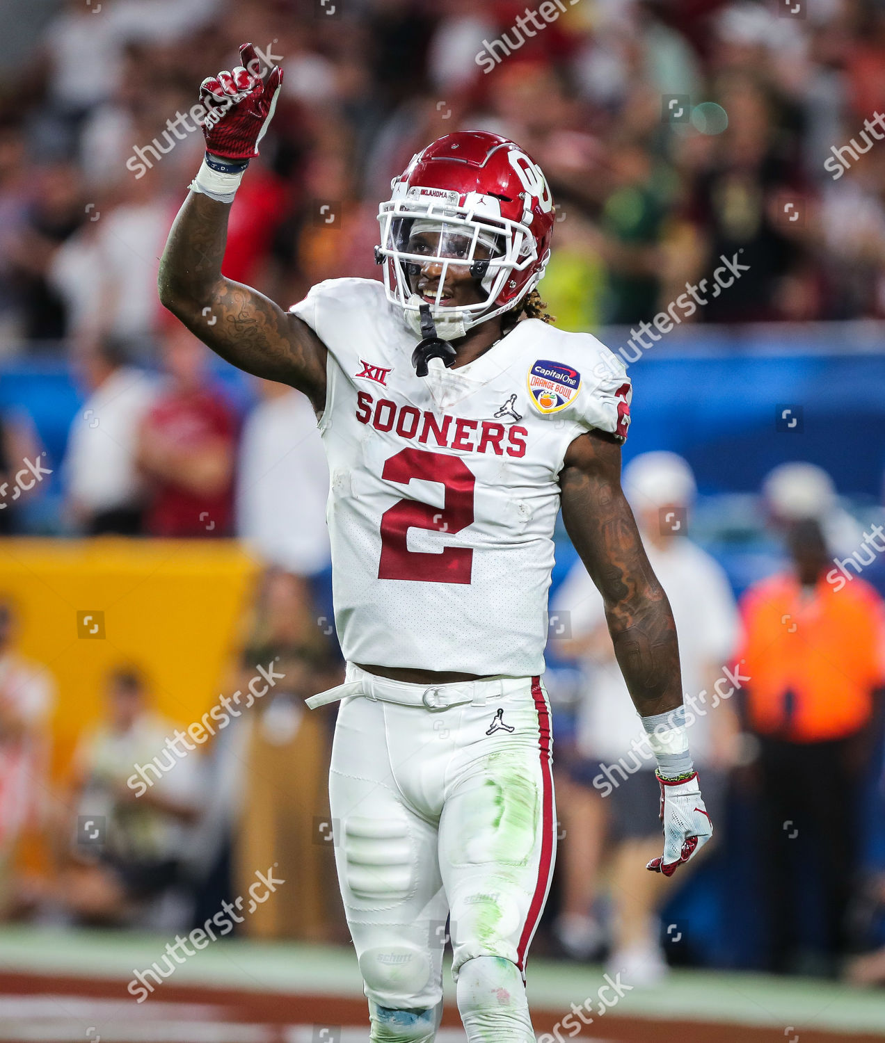 Oklahoma Sooners Wide Receiver Ceedee Lamb 2 Editorial Stock Photo