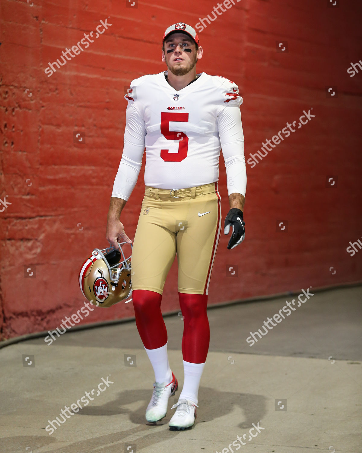 best loved 6305d 6956e San Francisco 49ers punter Bradley Pinion 5 Editorial Stock ...