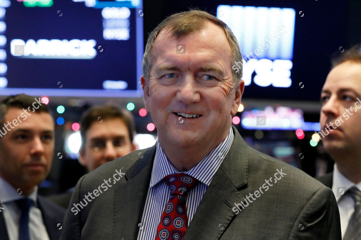 Barrick Gold Corporation President CEO Mark Bristow