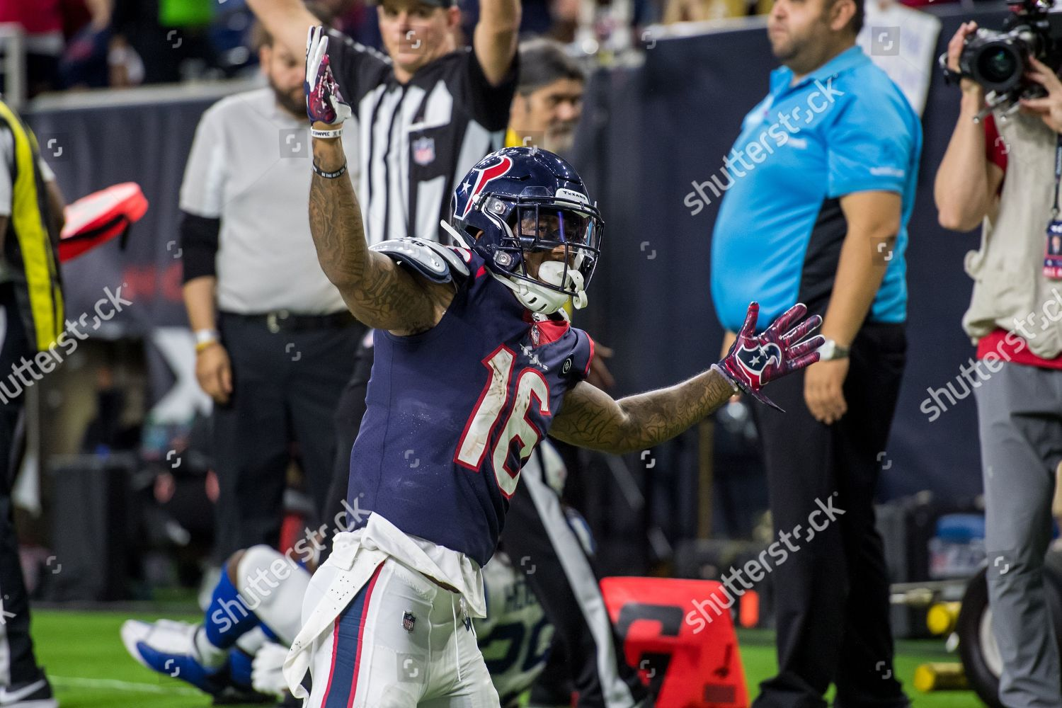 online retailer 5013e b1ddb Houston Texans wide receiver Keke Coutee 16 Editorial Stock ...