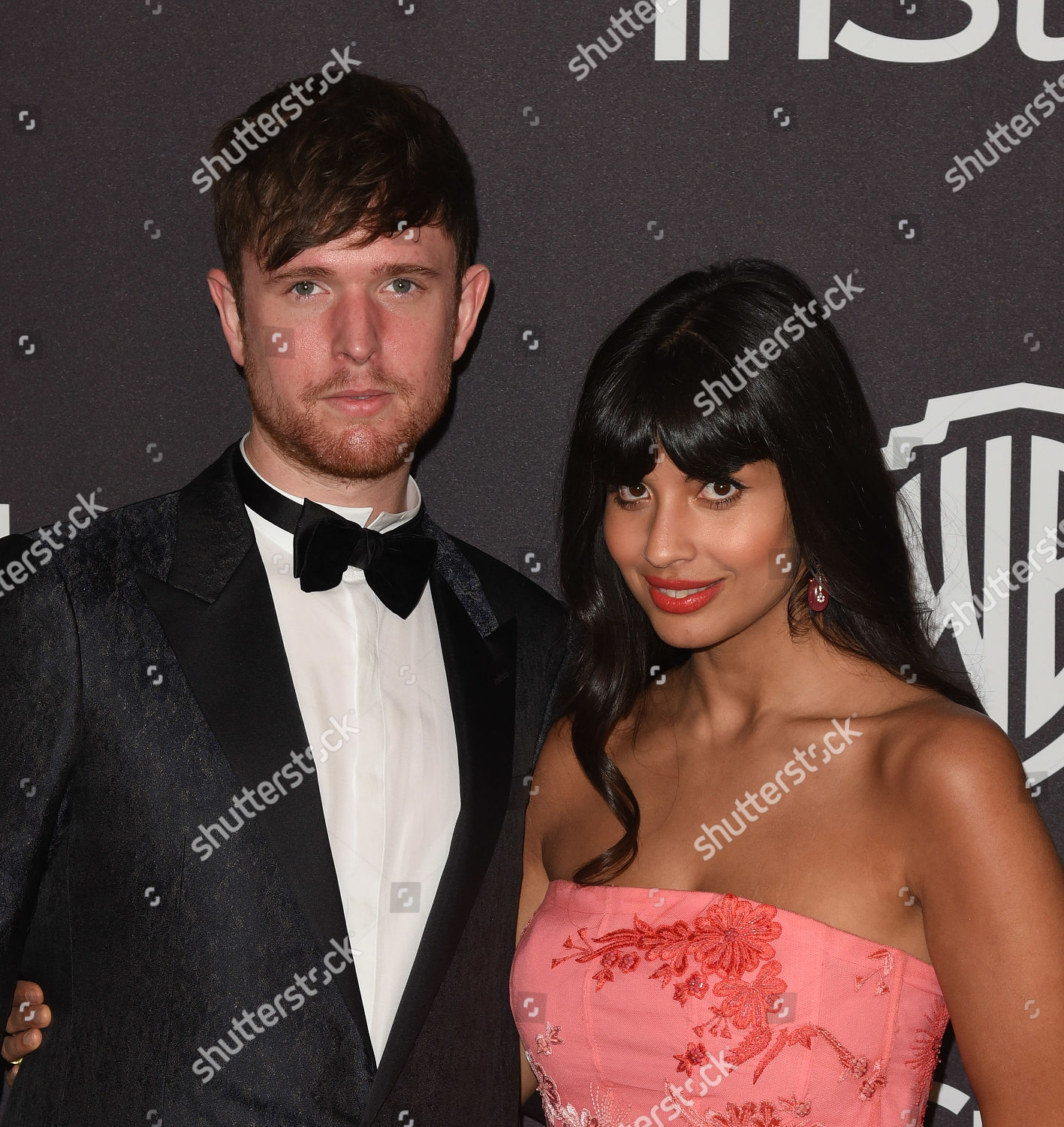 James Blake Jameela Jamil Editorial Stock Photo
