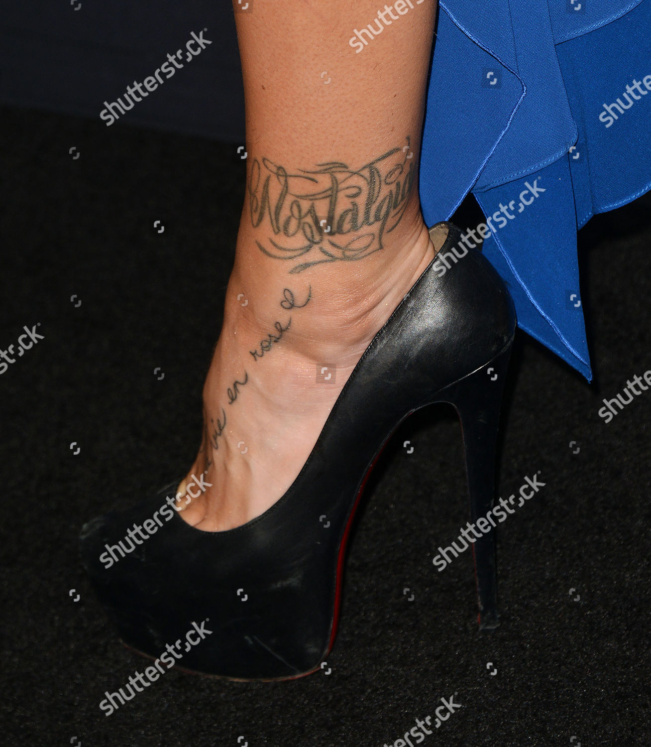 e14131e7e3 Gigi Gorgeous Tattoo Detail Editorial Stock Photo - Stock Image ...