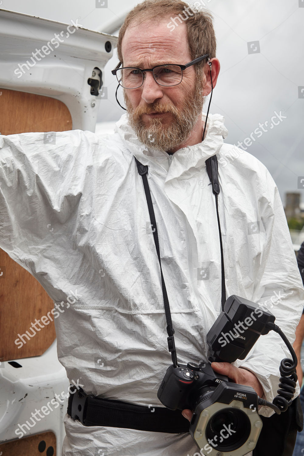 Paul Kaye Malcolm Donahue Editorial Stock Photo - Stock