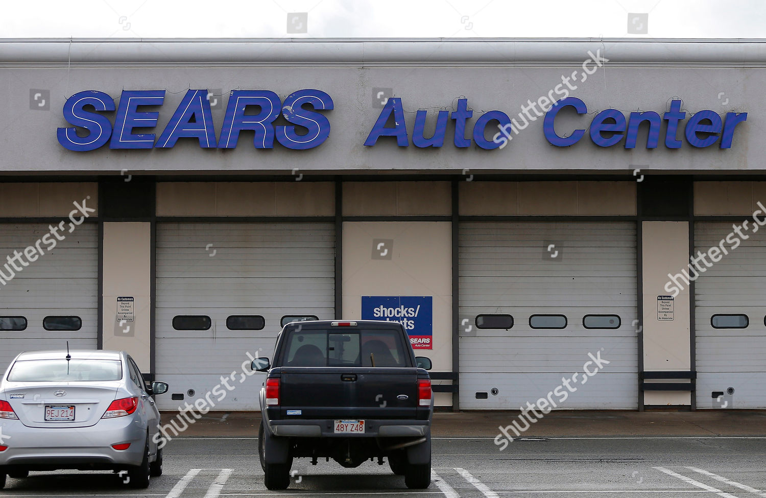 Sears Auto Center Saugus Massachusetts USA 09 Editorial
