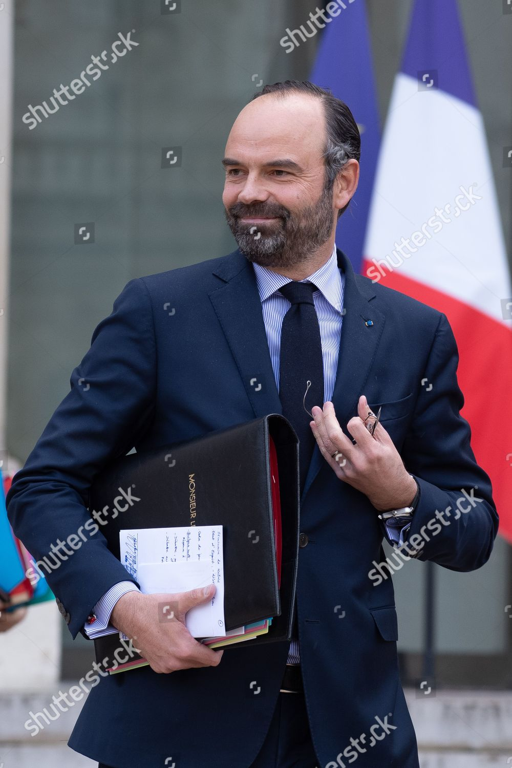 cabinet-meeting-paris-france-stock-image-by-pierre-villard-for-editorial-use-9-jan-2019