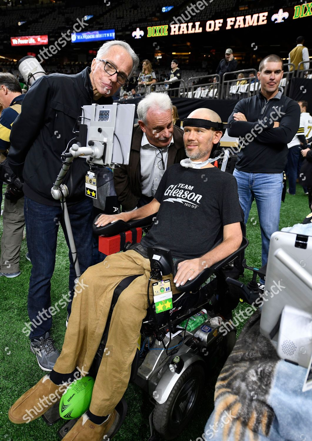 Former New Orleans Saints Player Steve Gleason Editorial