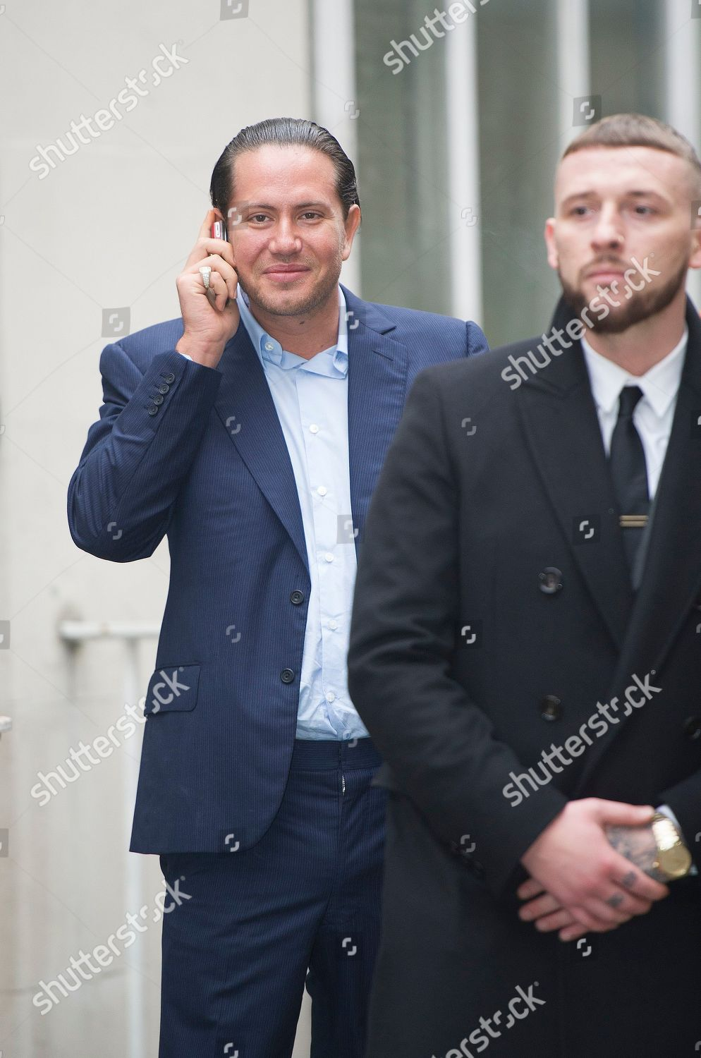 James Stunt Arrives Family Court Holborn London Editorial Stock