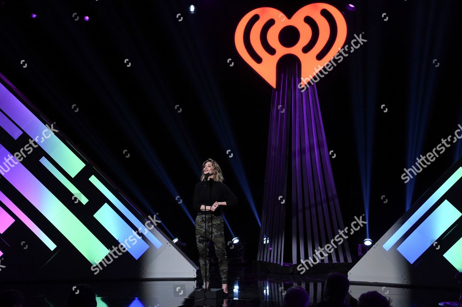 Jillian Michaels speaks onstage during 2019 iHeartRadio