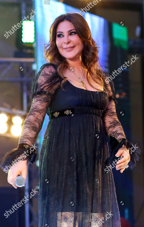 Lebanese singer Elissa performs Cairo Egypt 18 Editorial ...