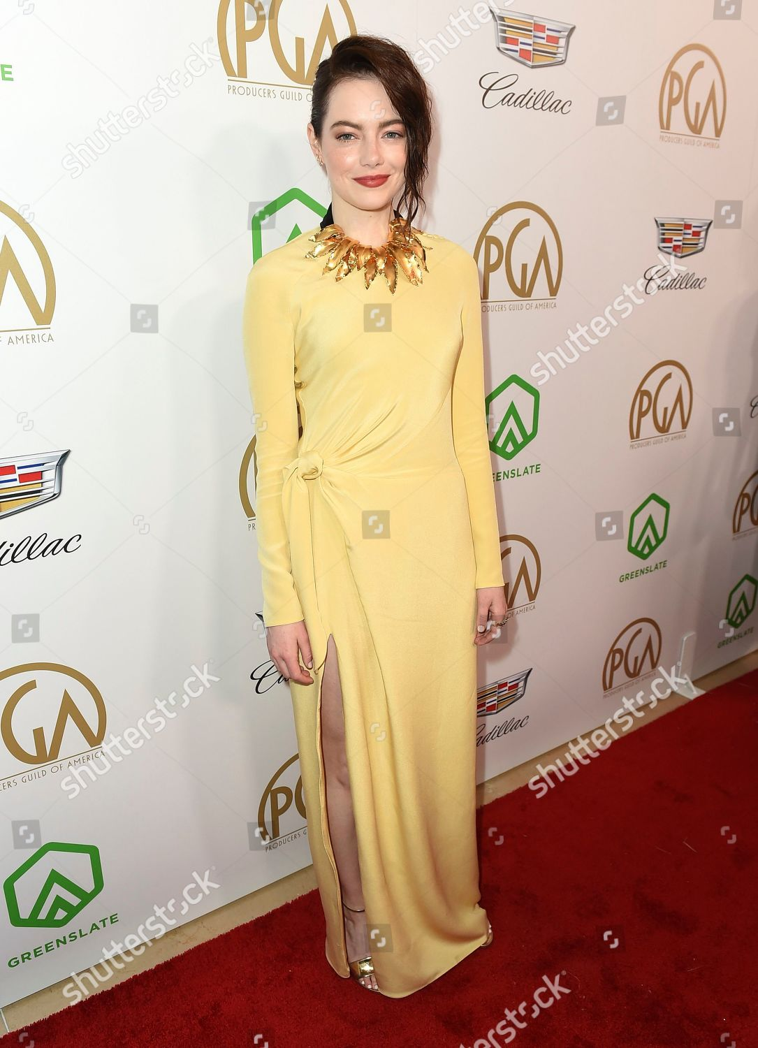Emma Stone arrives 30th Producers Guild Awards Editorial